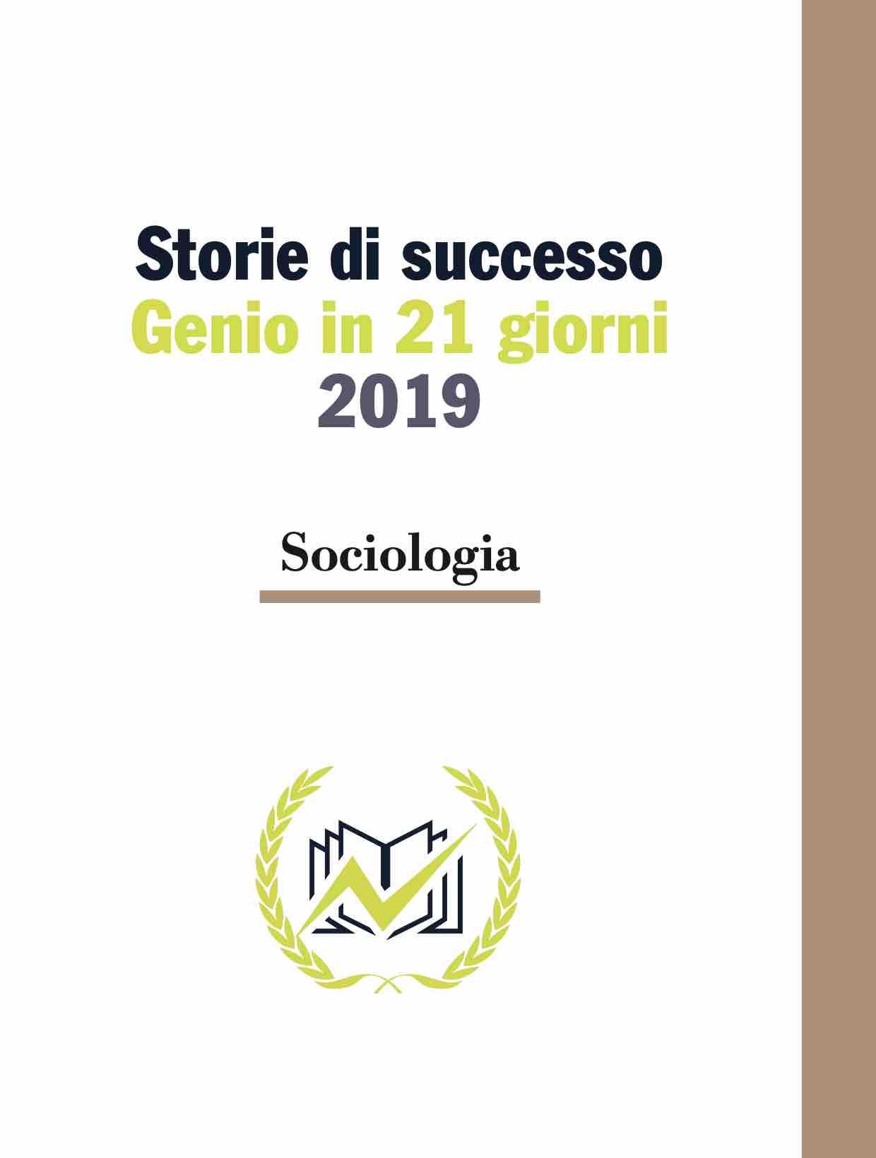 Testimonianze Genio in 21 Giorni Sociologia