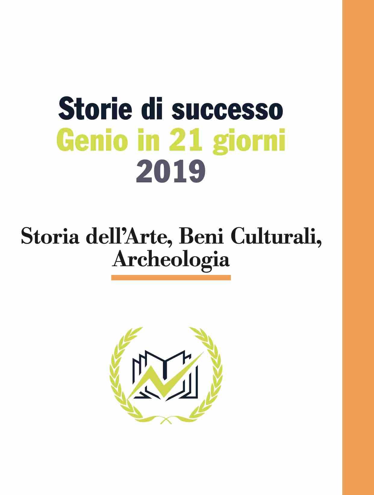 Testimonianze Genio in 21 Giorni Storia dell'Arte, Beni Culturali, Archeologia
